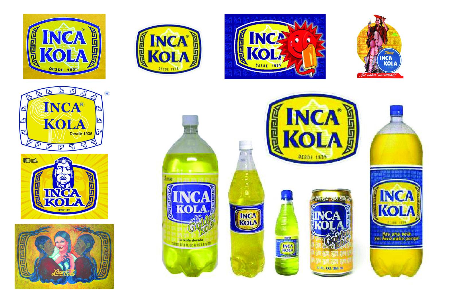 Inca Kola Label.