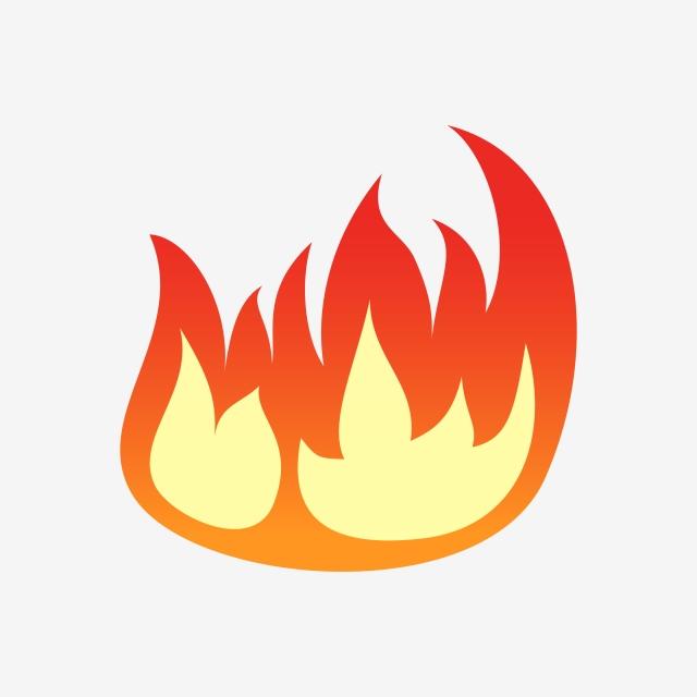 Incendio Clipart Vector Line Art, Clipart, Fuego, Icono PNG y Vector.