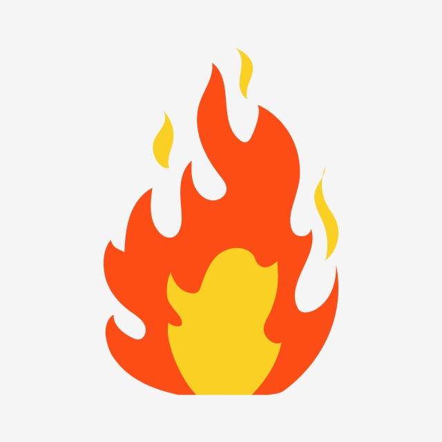 Incendio Clipart Vector Design Clipart Diseño Fuego PNG y Vector.
