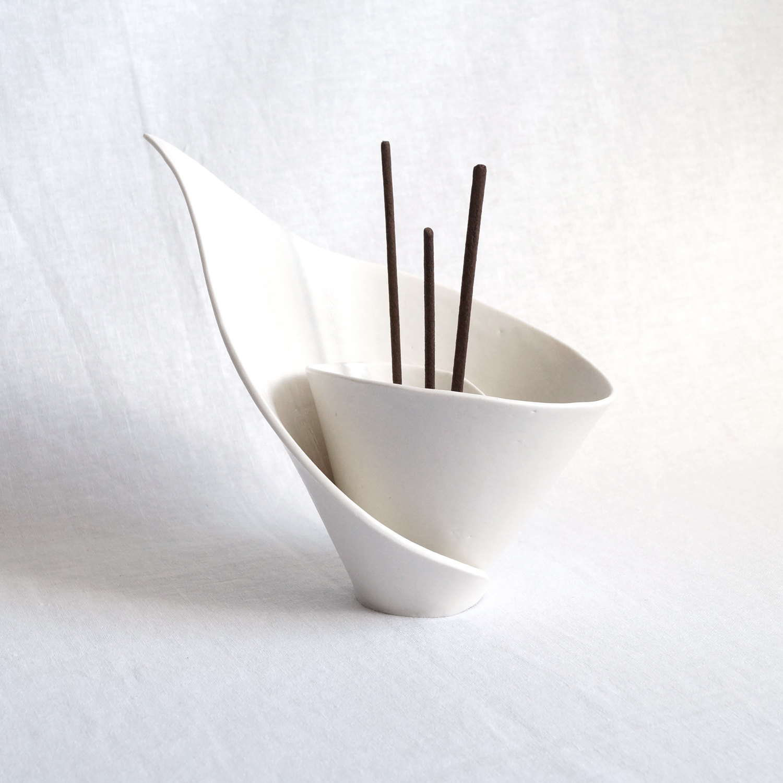 Incense stick holder.