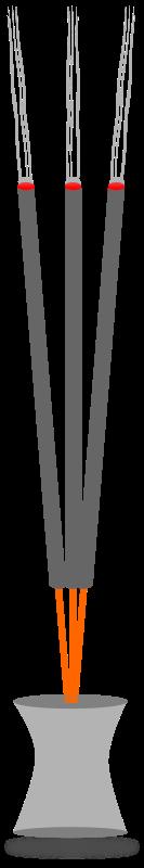 Free Clipart: Incense sticks.