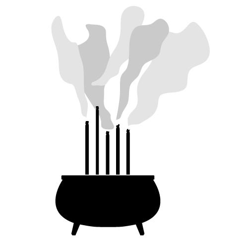Incense Clipart.