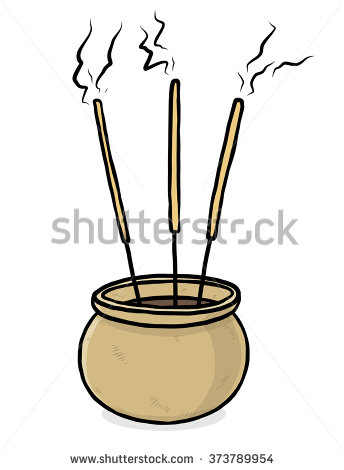Incense Sticks Stock Photos, Royalty.