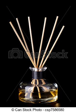 Stock Photography of Incense Sticks.