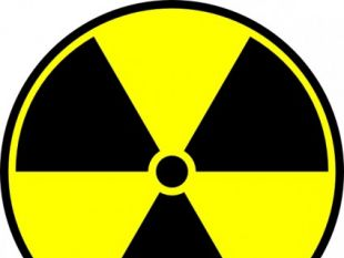 Radioactive sign 01.
