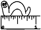 Inch Clipart.