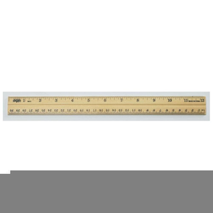 One Inch Ruler Clipart.