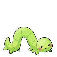Inch Worm Clipart.