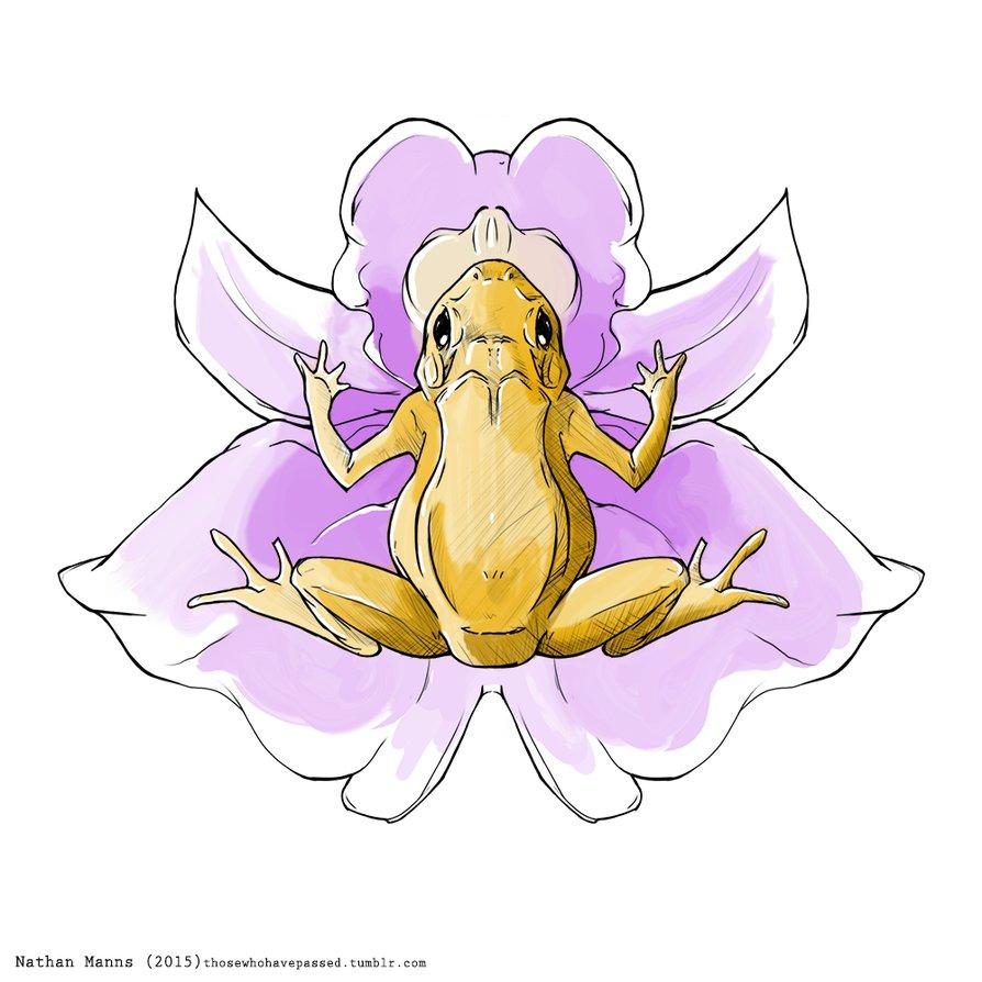 Golden Toad (Incilius periglenes) by MishkedehBizikhe on DeviantArt.