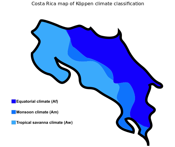 Geography of Costa Rica.