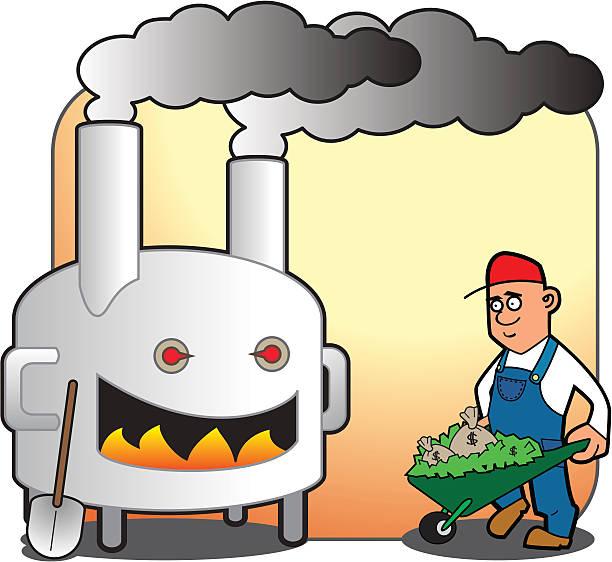 Waste Incinerator Clip Art, Vector Images & Illustrations.