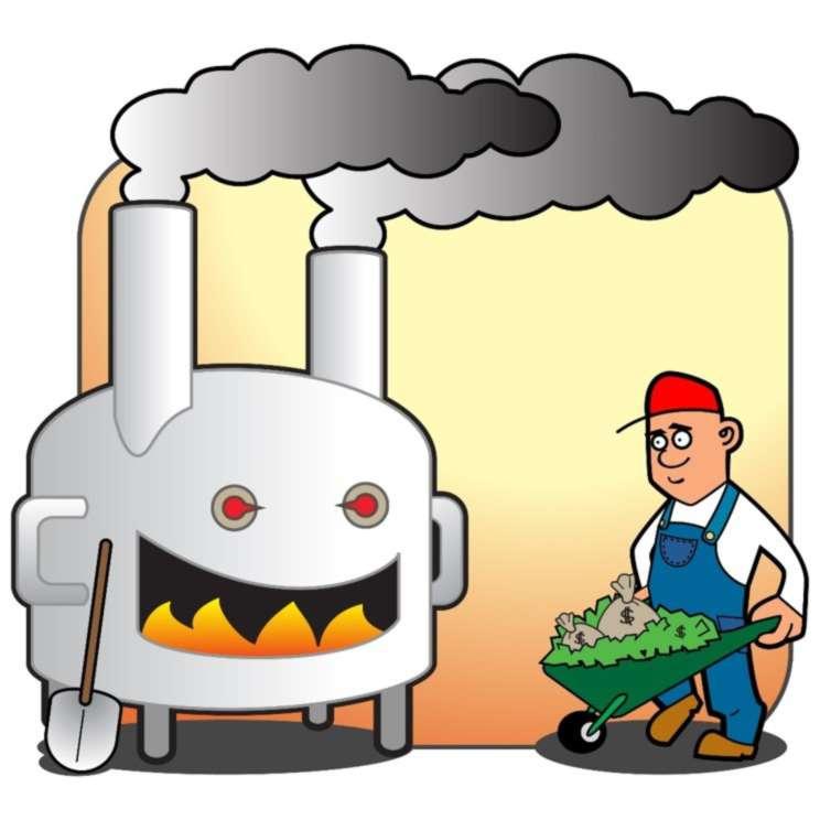 Incinerator clipart #11