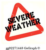 Severe Weather Clip Art.