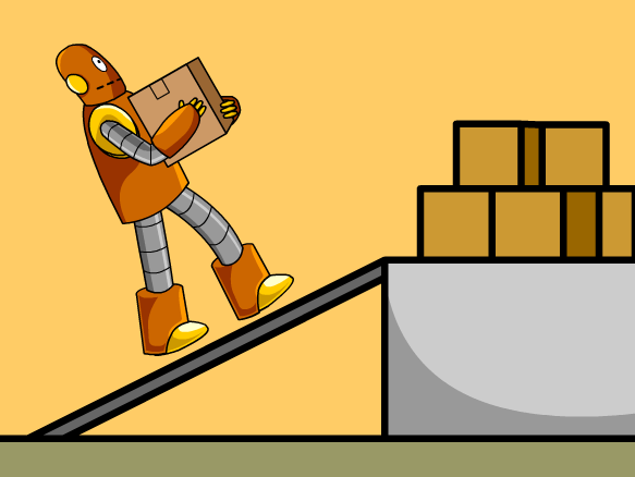Inclined Plane Clipart.