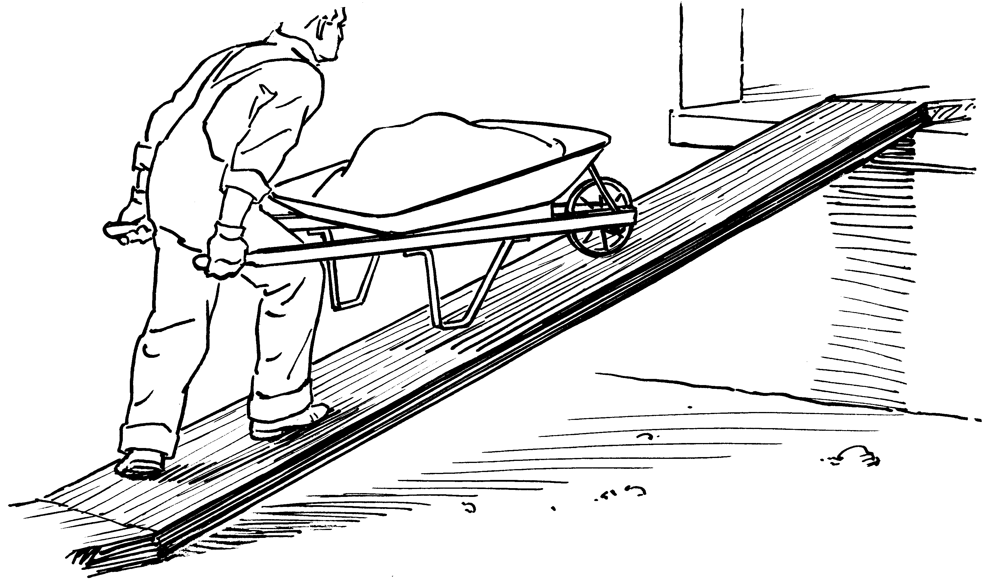 Clipart inclined plane.