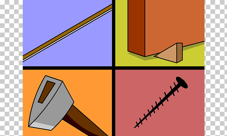 Inclined plane Simple machine Wedge , Simple Machines s PNG.