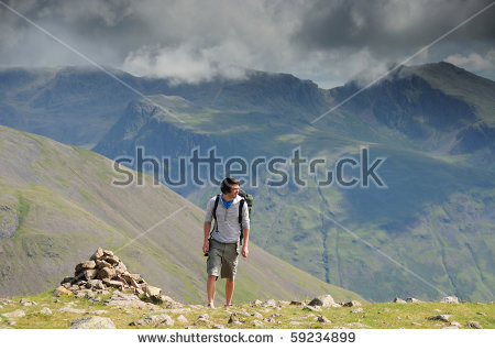Great Craggy Mountains Stock Photos, Royalty.