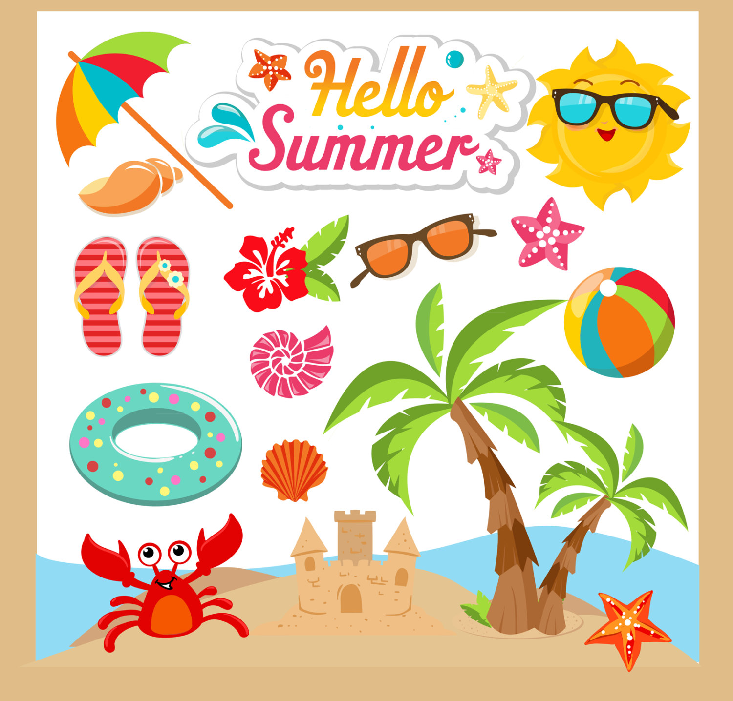 clipart of summer #11