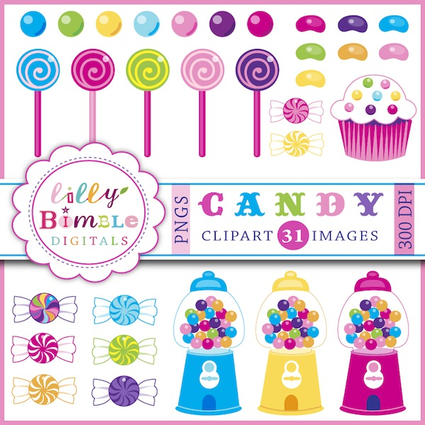 Candy Clipart.