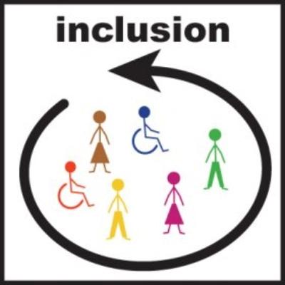 Inclusion Classroom Clipart.