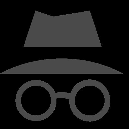Incognito Icon of Line style.