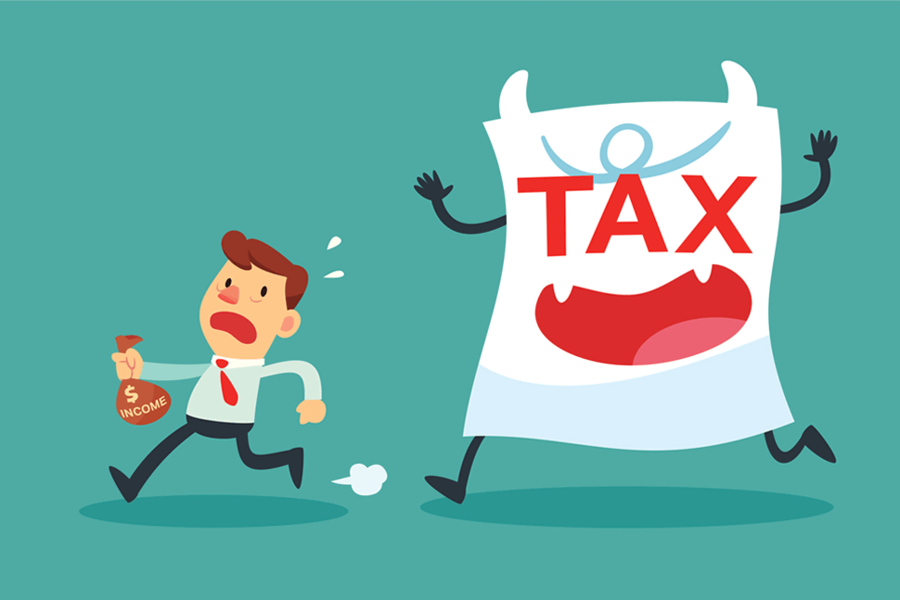 Tax Day clipart.