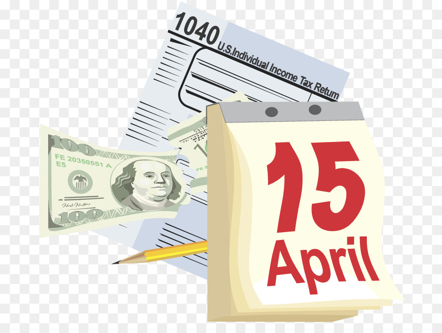 Tax Day png download.