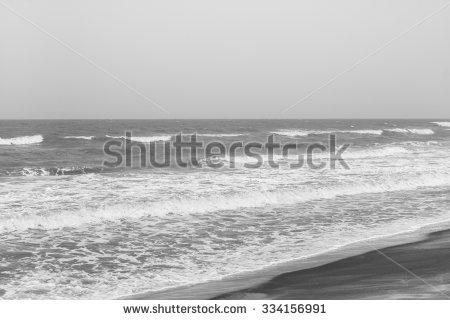 Receding Sea Stock Photos, Royalty.
