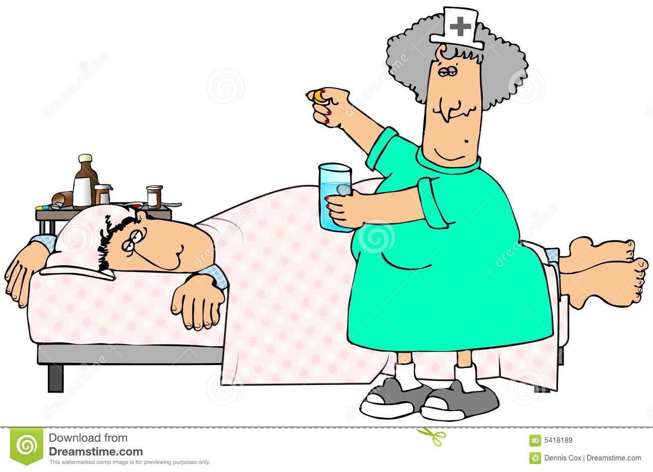 Sick Cartoon Woman Stock Illustrations.