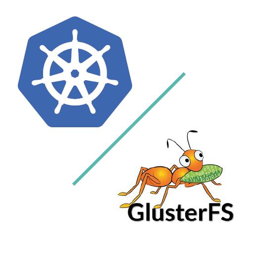 Increase GlusterFS volume size in Kubernetes.