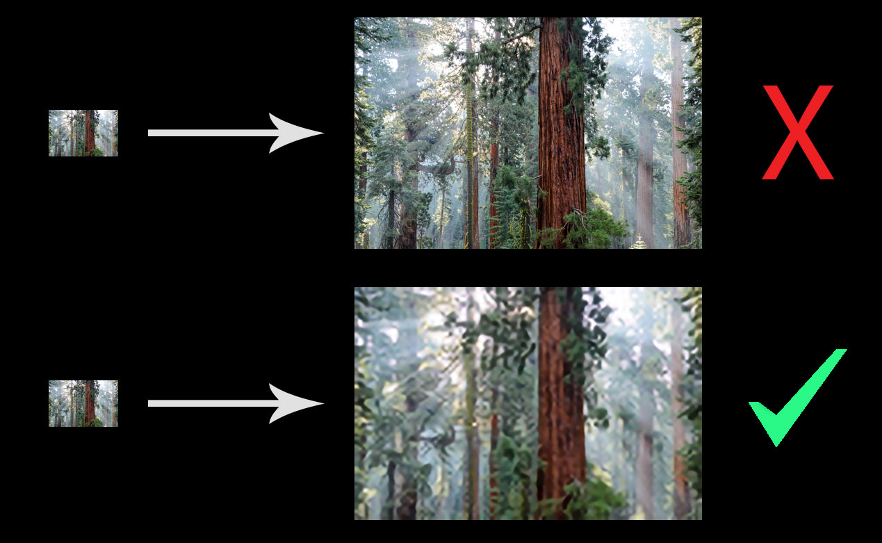 How to Increase the Resolution of an Image.