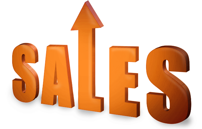 Increase Sales Png Vector, Clipart, PSD.