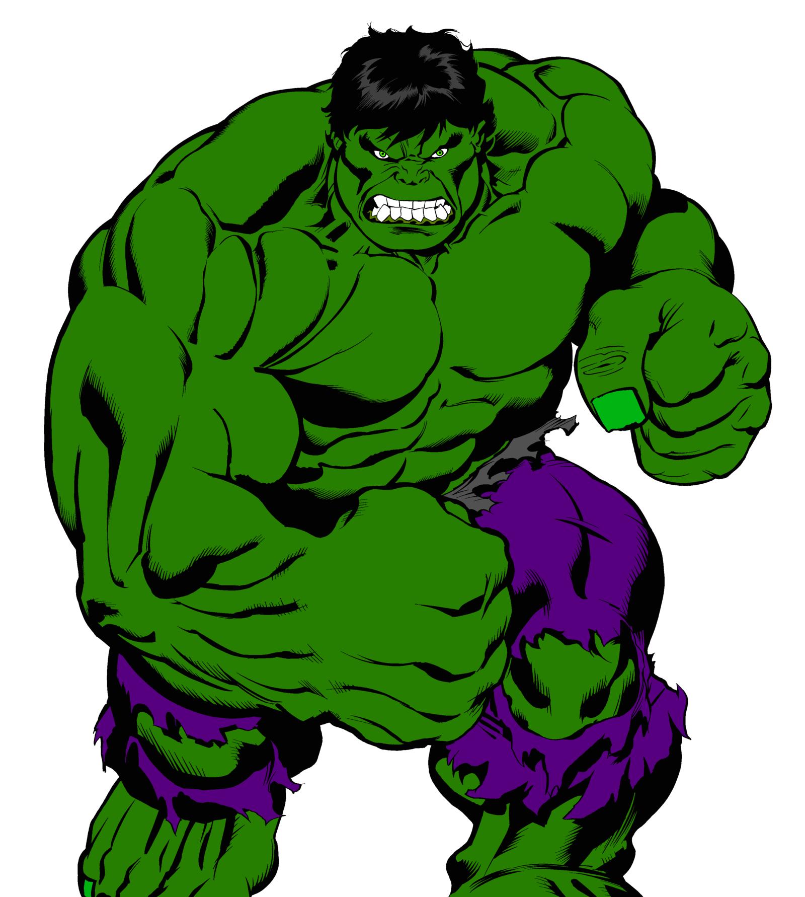 The Hulk Clipart.