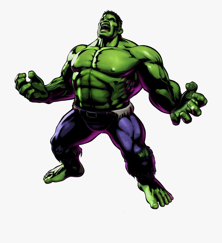 Hulk Comic Png Clip Art Free , Png Download , Transparent.