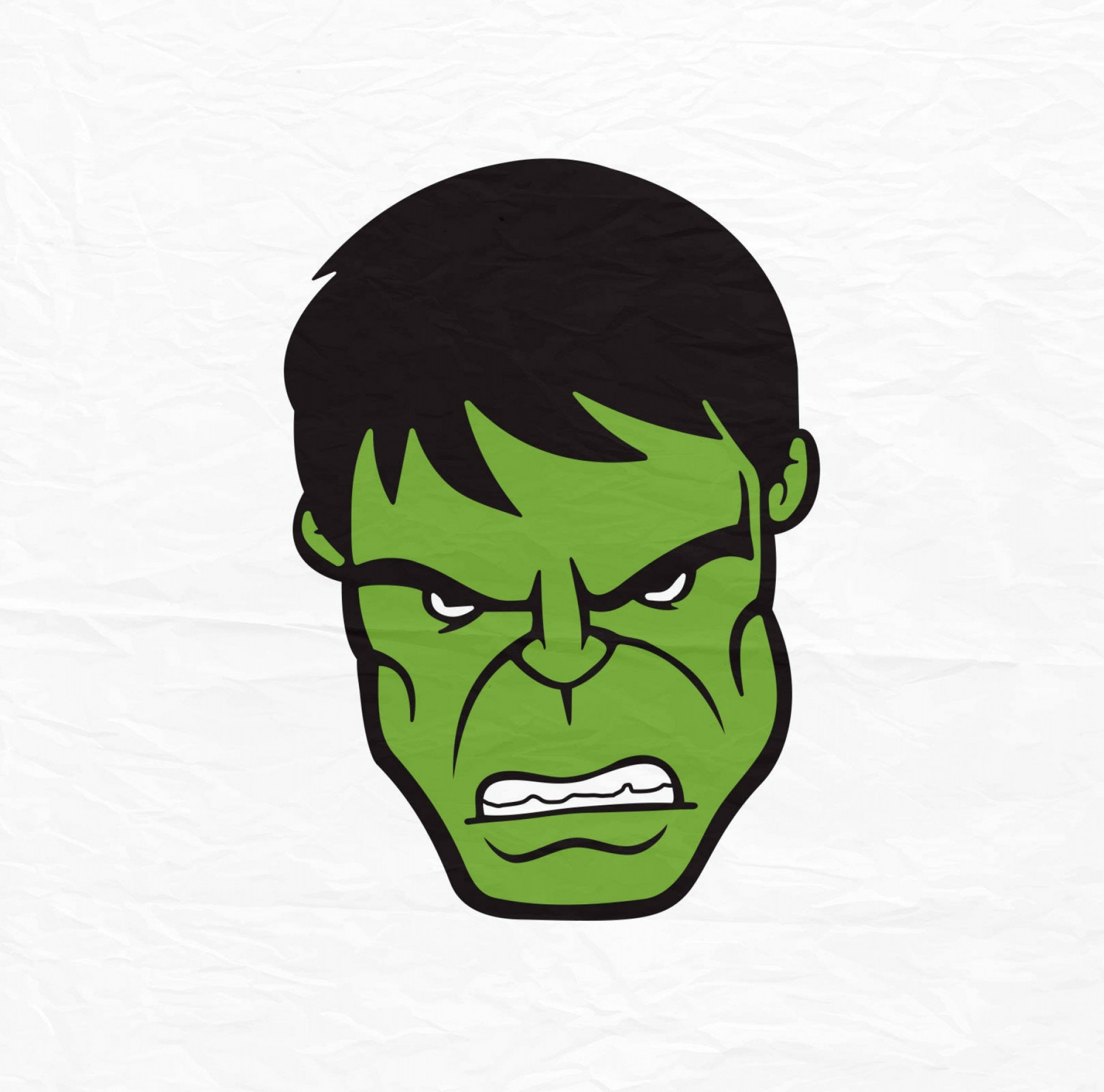 The Incredible Hulk Face Hulk Face Svg.