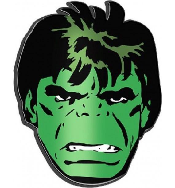 Incredible Hulk Face Lapel Pin.