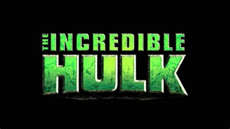 The incredible hulk Logos.