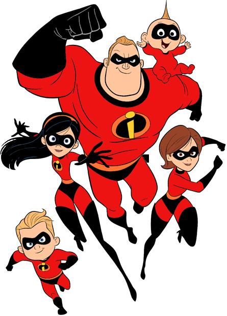 Incredibles 2 Clip Art.