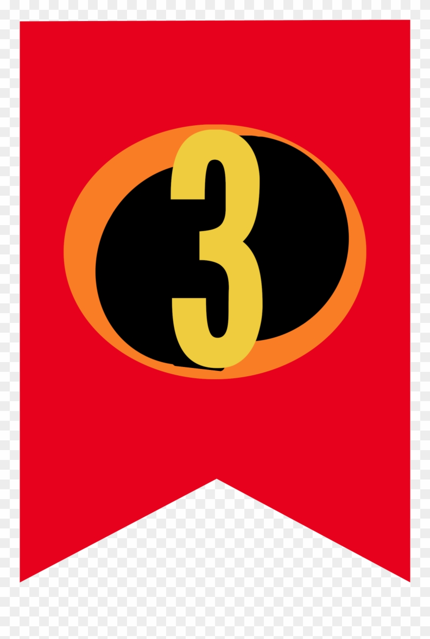 Incredibles 2 Birthday Banner Clipart (#3586020).