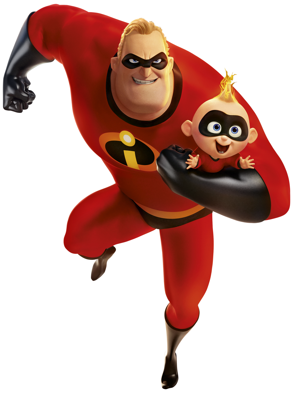 Incredibles 2 PNG Cartoon Image.