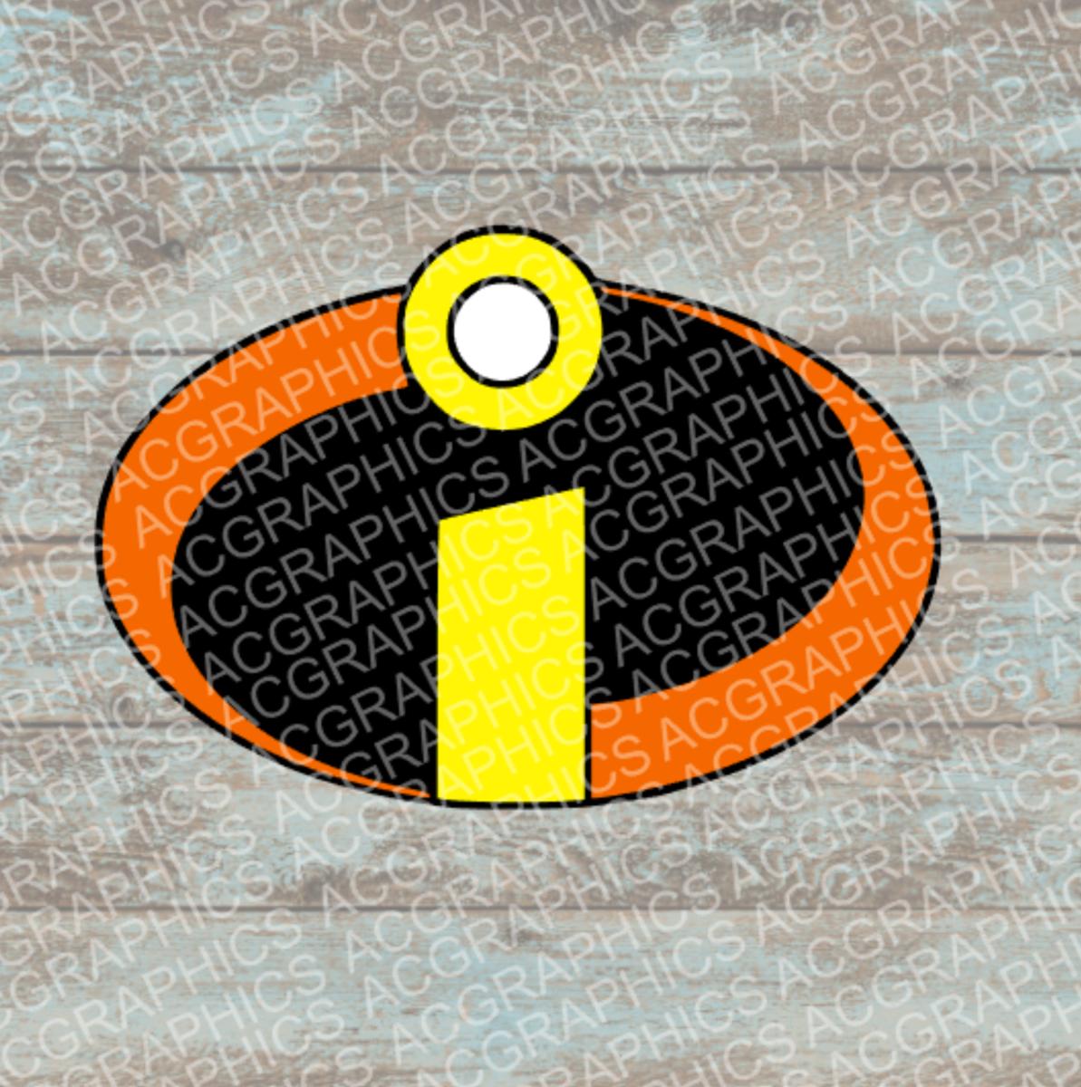 Incredibles Logo SVG, Studio, EPS, and JPEG Digital Downloads.