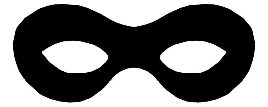 Free Superhero Mask Silhouette, Download Free Clip Art, Free.