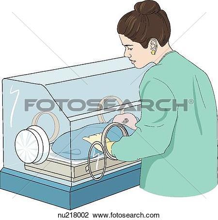 Stock Illustration of Incubator aa01019.