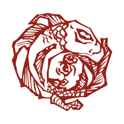 Incubus Fish Tattoo vector logo free.