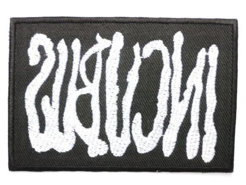 INCUBUS Logo Iron On Embroidered Band Patch 3.1\