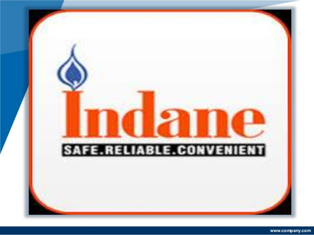 Online booking of indane gas.
