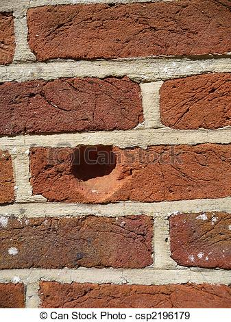 Stock Photographs of Indentation In Wall.