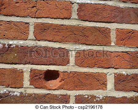 Pictures of Indentation In Wall.