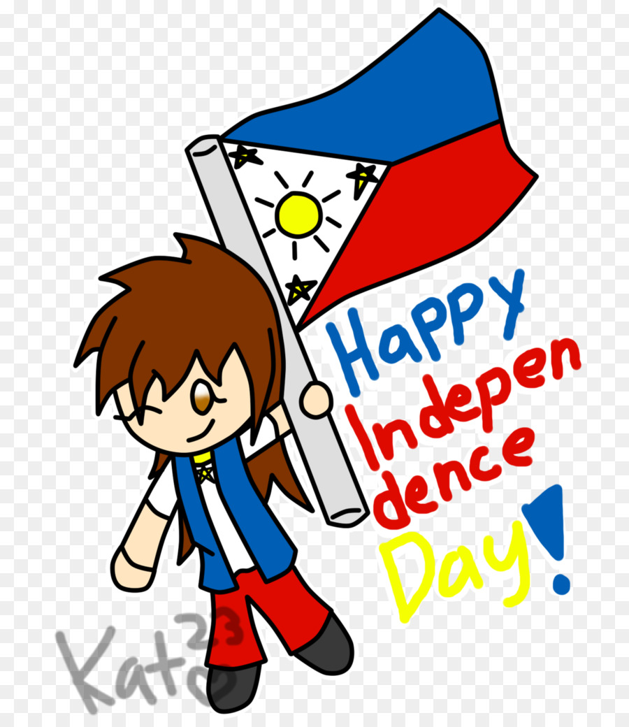 Happy Independence Day Text clipart.