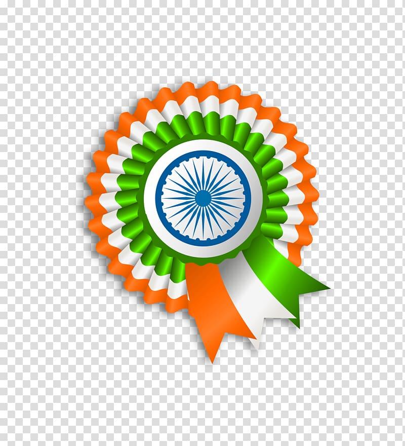 Flag of India ribbon illustration, Flag of India.